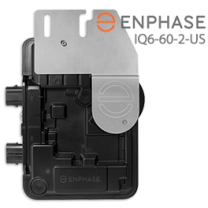 Enphase IQ6-60-2-US Microinverter for 60-Cell PV Modules - 240VAC