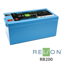 RELiON RB200 200Ah 12V Lithium Battery - Low Wholesale Price