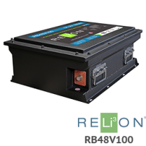RELiON RB48V100 100Ah 48V Lithium Battery - Low Wholesale Price